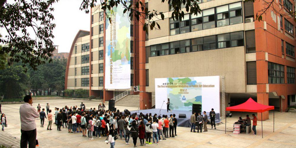 IWPA International Workshop for Public Art Education - Opening ceremony