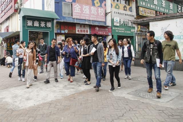 IWPA - Research: Exploring the quarter Huang Jue Ping, Chongqing