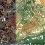 Highstreet, Accra,Ghana. Google Earth satellite view.