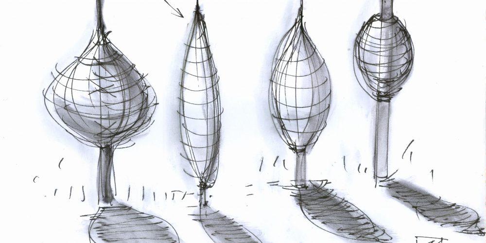 spindeln-entwurfszeichnung-mo%cc%88gl-einzelformen