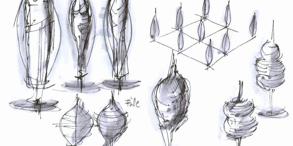 spindeln-zeichnung-entwu%cc%88rfe-einzelform